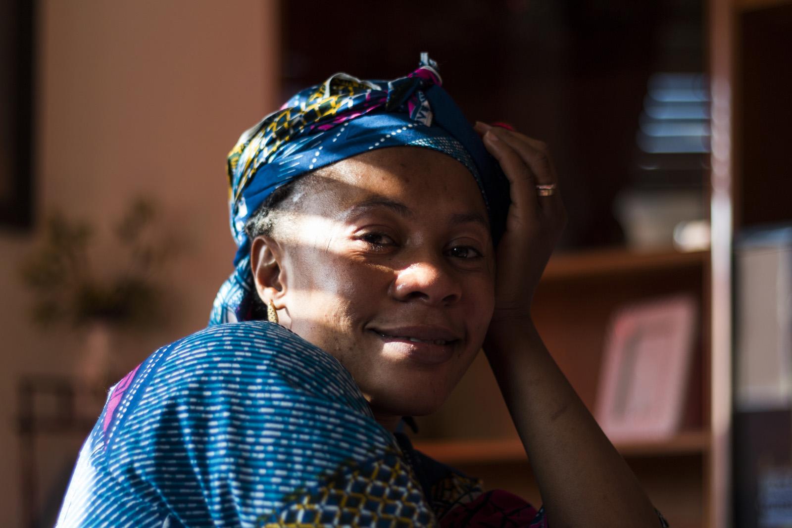 Retrato Mujer Africana