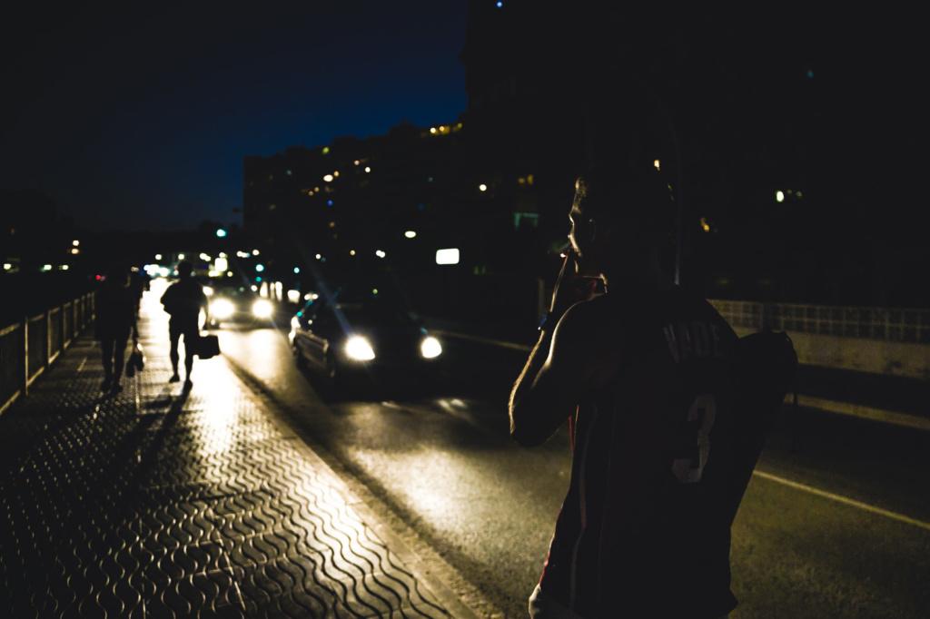Persona paseando