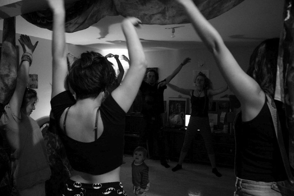Danza en San Antón de Cuenca