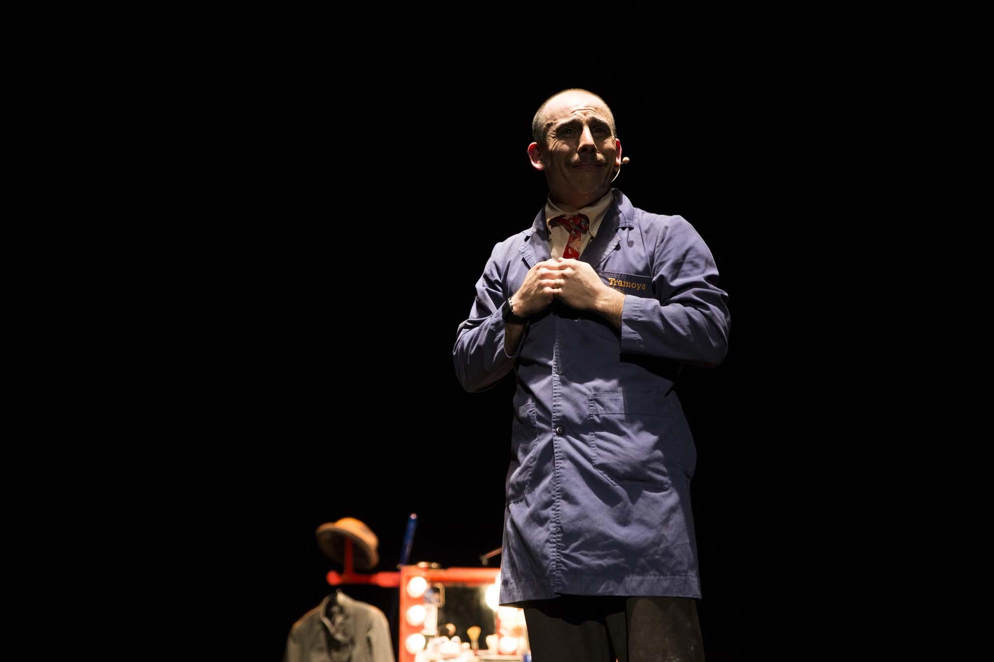 Espectáculo de teatro Juan Salvador Tramoya