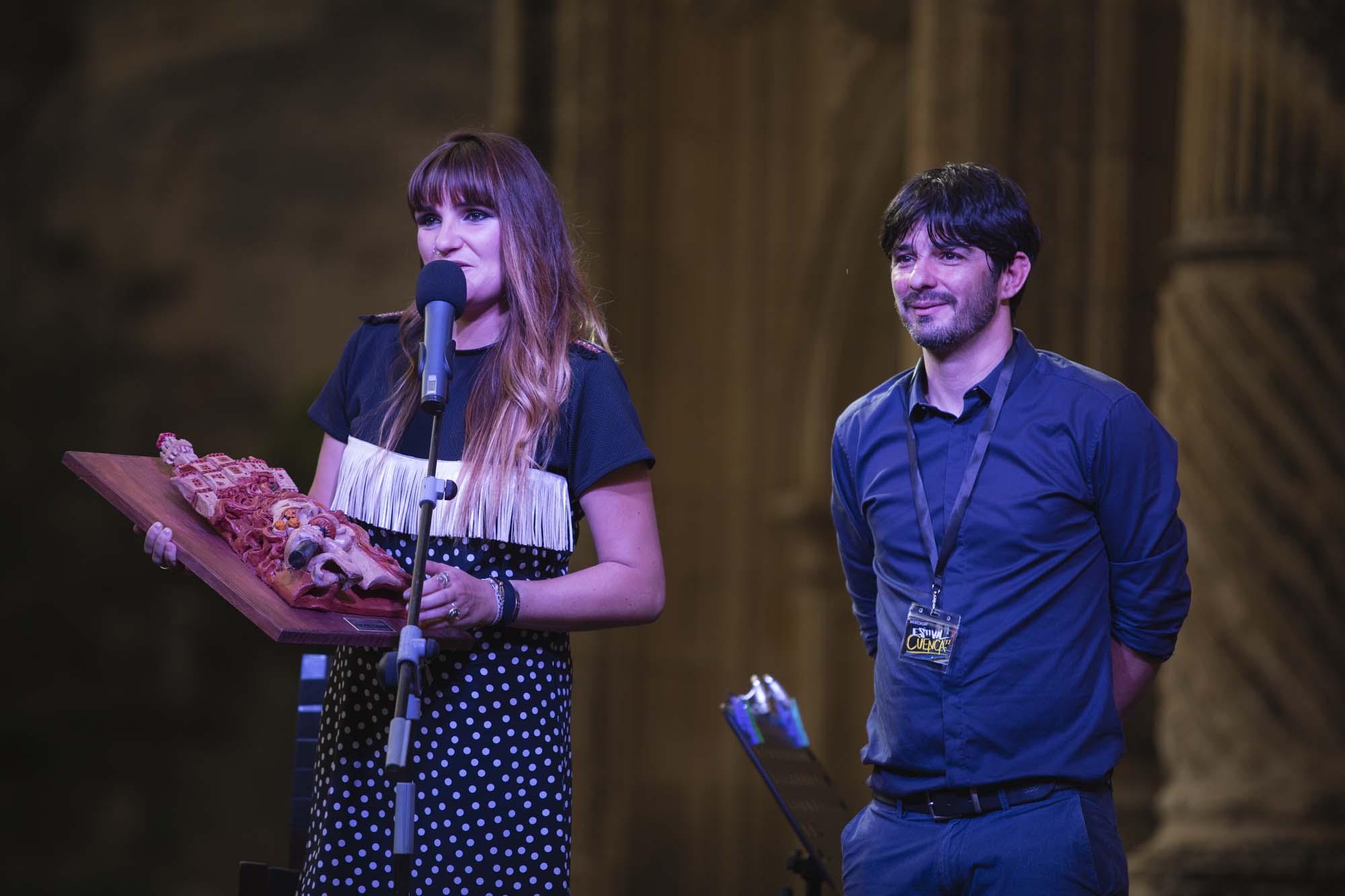 Rozalén recibe premio en Cuenca