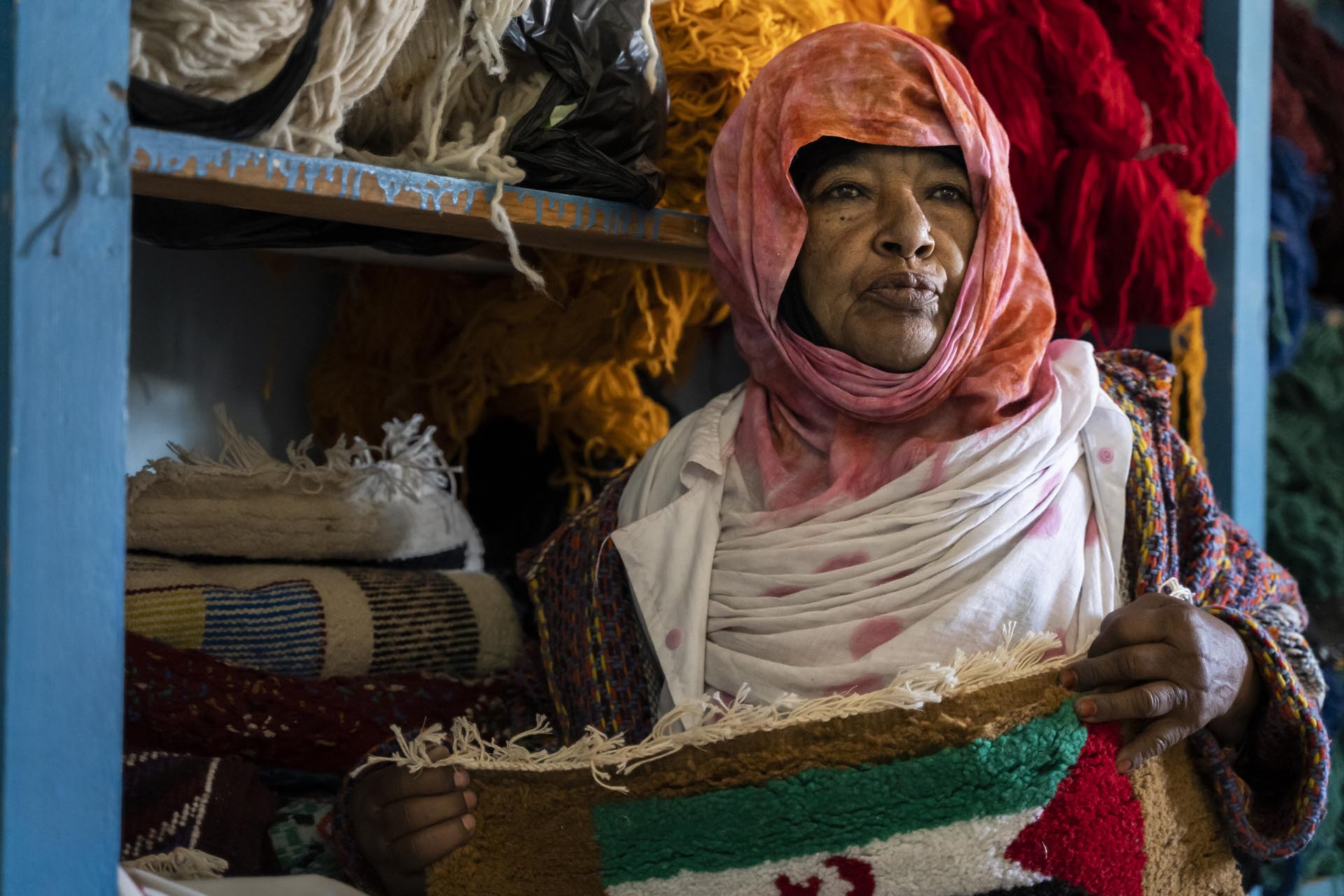Artesanía en el Sahara