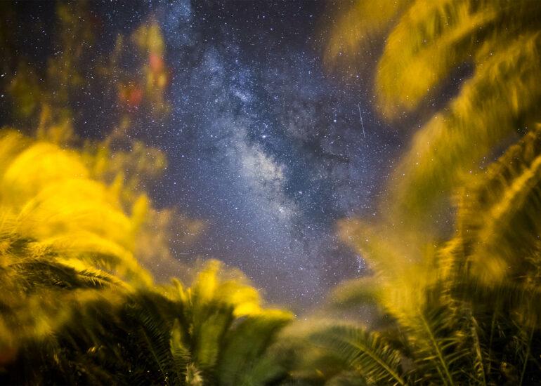 Estrellas en La Gomera
