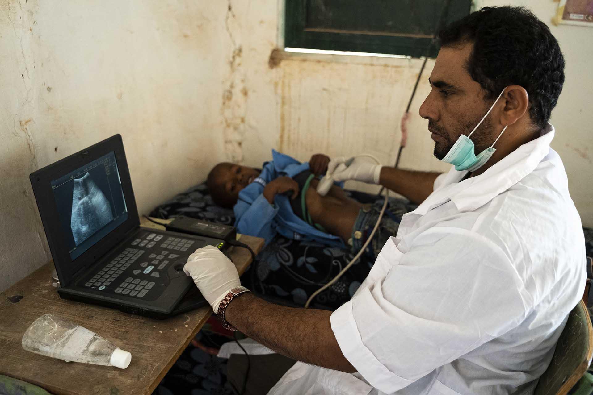 Medicina en los Campamentos Sahara