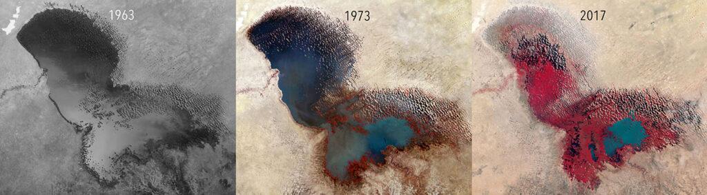 Cambios en el lago Chad